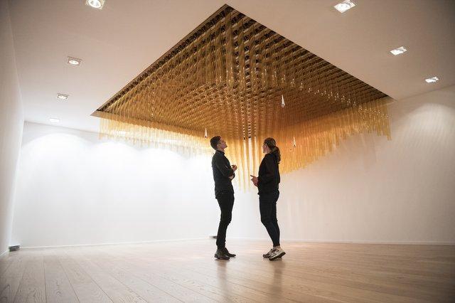 Kunstinstallation Lundin